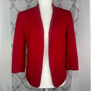 LC Lauren Conrad red blazer